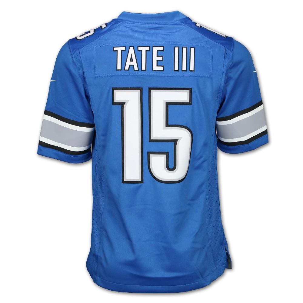 Tate III #15 Detroit Lions Men's Limited Jersey