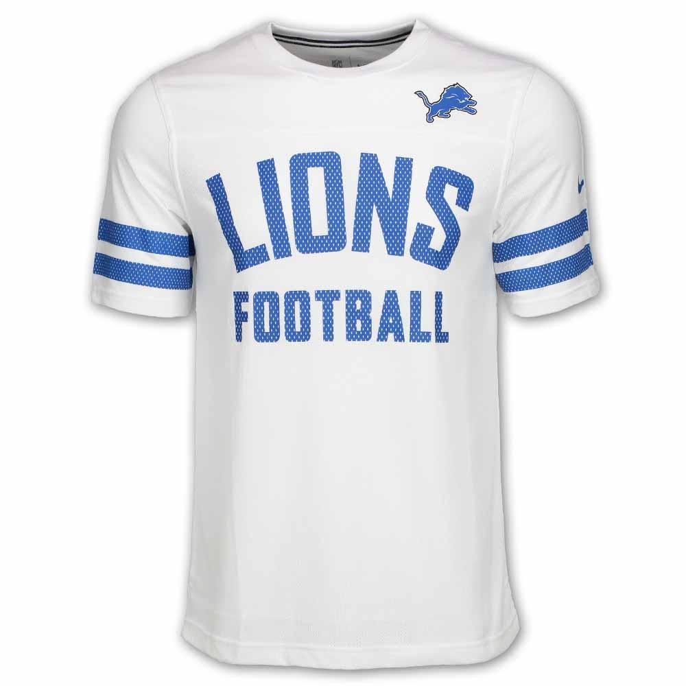 detroit lions white jersey